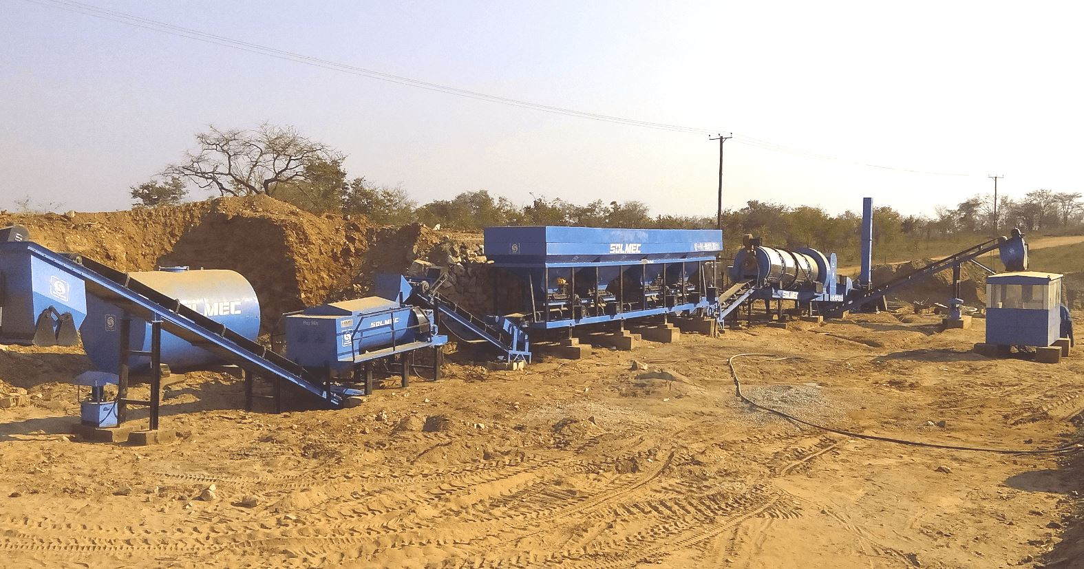 Asphalt Wet Mix Dual Plant