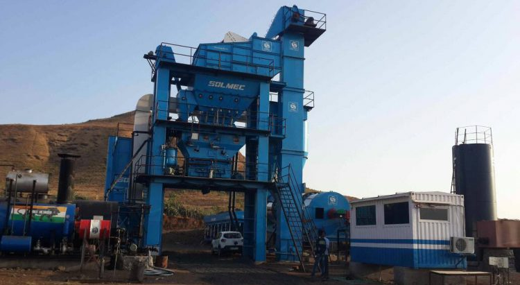 Asphalt Batch Mix Plant 4