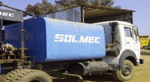 solmec bitumen sprayer